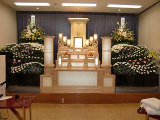 友人葬(創価学会)でのお別れ