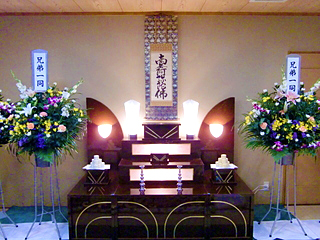 家族葬プラン25 和祭壇