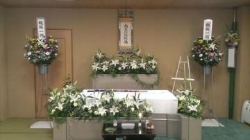 花祭壇プランの家族葬