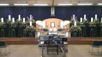 事故死した家族の葬儀