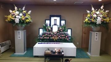 質素ではない家族葬