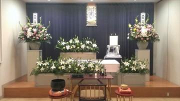 お花で囲んだ家族葬