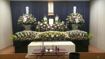花が好きだった父らしい葬儀