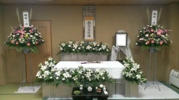 花で囲んだ一日葬